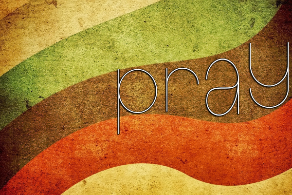 pray series graphic