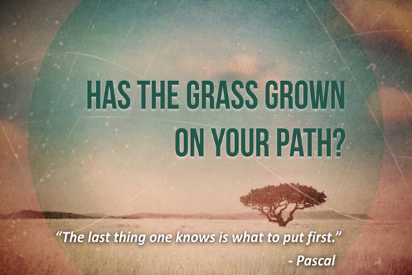 [Podcast] Has The Grass Grown On Your Path?