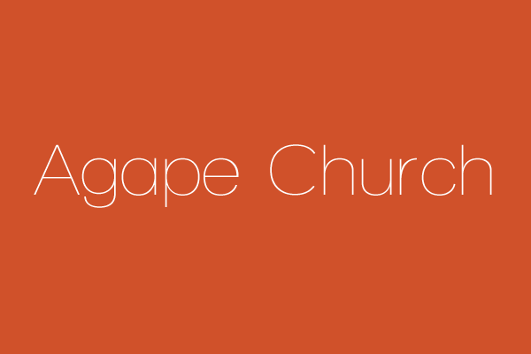Agape Church (Swahili)